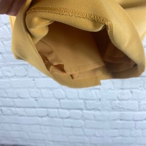 The Limited Skirts - The Limited Gold pencil skirt Sz 10